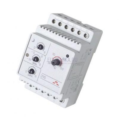 Терморегулятор Devireg D-316, белый