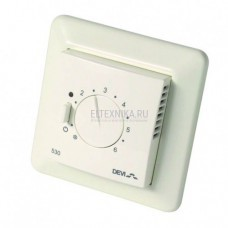 Терморегулятор Devireg D-530, 15A, белый