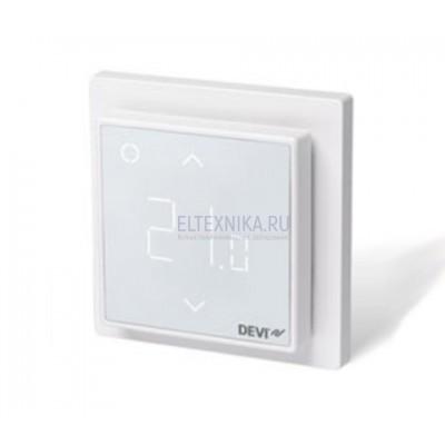 Терморегулятор DEVIreg Smart терморегулятор с Wi-Fi, белый, 16А