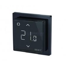 Терморегулятор DEVIreg Smart терморегулятор с Wi-Fi, черный, 16А
