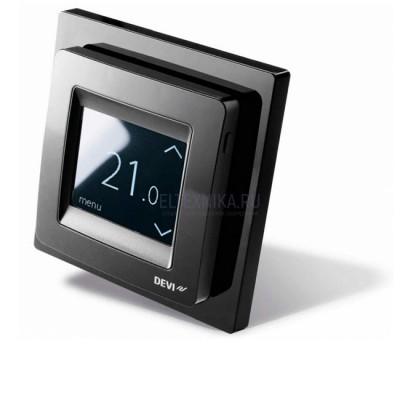 Терморегулятор Devireg Touch Black, черный