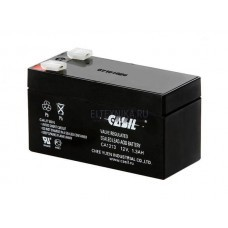 Аккумулятор 12 вольт 1,3 ампер*час, GIDROLOCK
