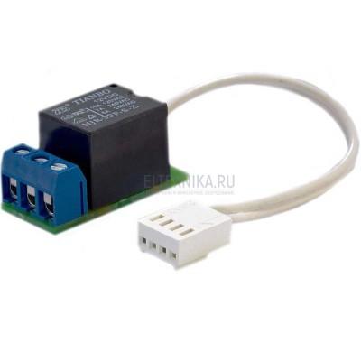 Дополнительное реле для блока управления (перекидной контакт 1С) 220В 10А, GIDROLOCK