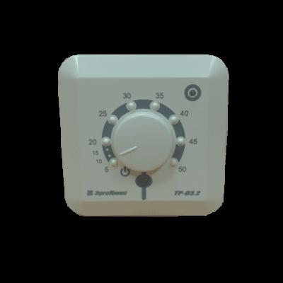 Терморегулятор ТР-03.2П, 16A, белый